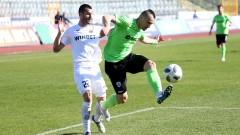 Дунав и Черно море не се победиха в мач с две дузпи и куриозен момент с отменен гол
