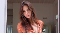 На бременната Емили Ратайковски не ѝ трябват дрехи