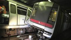 Риск от хаос след необичайна влакова катастрофа в Хонконг
