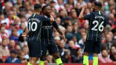 Манчестър Сити спечели гостуването си на Арсенал с 2:0