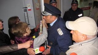 Екшън в русенски блок заради опис на имоти