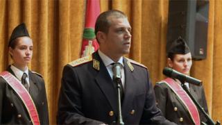 Калин Георгиев надъха МВР курсантите
