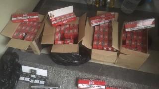 Откриха контрабанден тютюн и алкохол в Горна Оряховица
