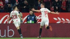 Футболисти на Севиля не искат да излязат срещу Рома
