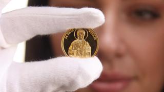 """БНБ пуска златна монета с лика на """"Св. Първомъченик Стефан"""""""