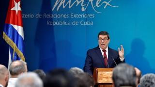 """Куба """"скочи"""" на САЩ заради посолството на Венецуела"""