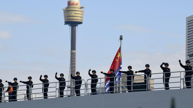 Китай проведе въздушни и военноморски учения наюгоизточното си крайбрежие, съобщи