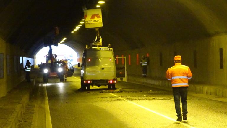 Авария остави без електрозахранване тунел