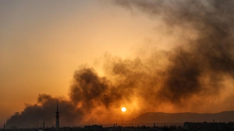 Сирия уби 85 цивилни в обсаден район край Дамаск,  според ООН