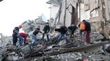 Под развалините от земетресението в Албания има още хора