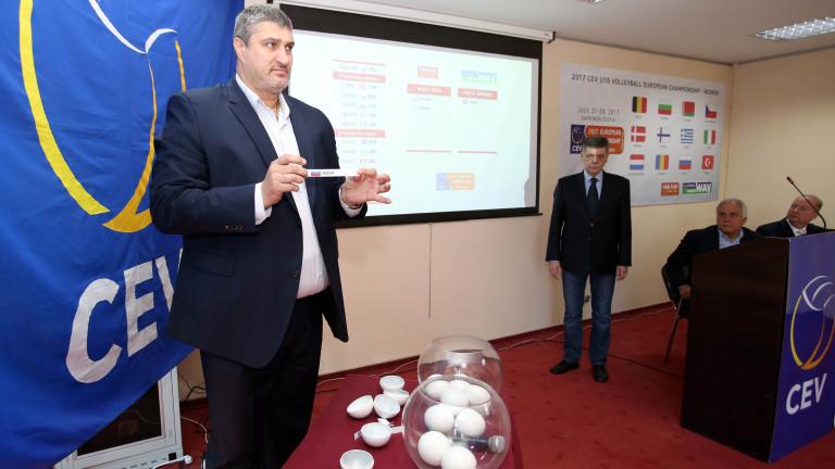Любо Ганев изтегли съперниците на България за европейското за момичета