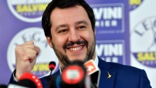 """Крайнодесният Салвини нахока """"разрушителния"""" Европейски съюз"""