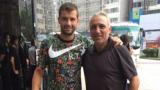 Стоичков и Гришо на вечеря в Китай