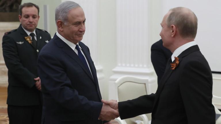 Нетаняху скоро ще се срещне с Путин, ще се координират за Сирия