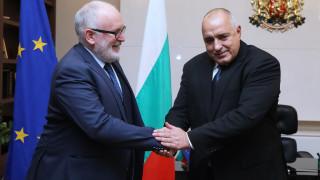 Борисов потвърди пред Тимерманс ангажимент към Истанбулската конвенция