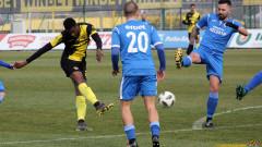 Феребори Доре се завърна с гол за Ботев (Пловдив)