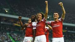 Арсенал победи Спортинг (Лисабон) в Лига Европа