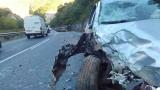 Тежка катастрофа с четирима ранени в Кресненското дефиле