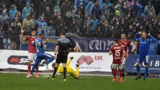 ЦСКА - Левски 1:0 (Развой на срещата по минути)