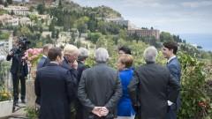 Пуснаха местните жители до лидерите от Г-7 в Таормина