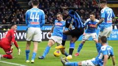 Наполи излъга Интер в първия 1/2-финал за Купата на Италия