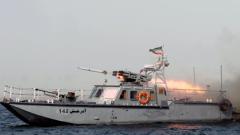 Иран изстреля ракета със среден обсег на действие
