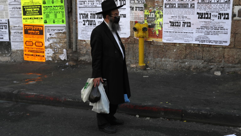 Израел наложи втора национална блокада днес, за да се справи
