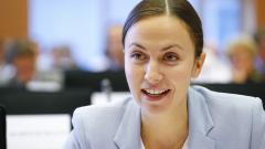 Ева Майдел насърчава бизнес обучение на младежи