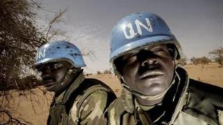 Хеликоптер на ООН се разби в Судан