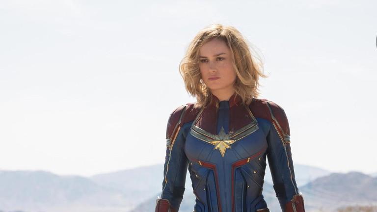Първи поглед към Бри Ларсън в Captain Marvel