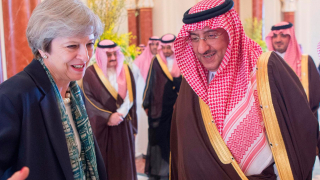 Тереза Мей не сложи забрадка в Саудитска Арабия