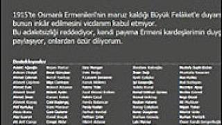 В петиция турски граждани се извиняват на арменците