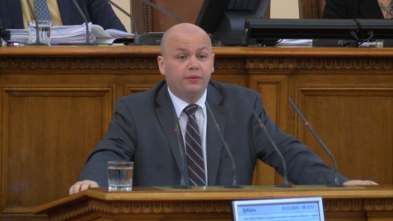 БСП видя политически натиск в БНР