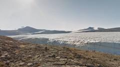 Виртуална разходка из канадските ледници