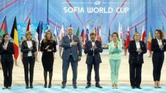 """Министър Кралев откри Световната купа по художествена гимнастика в """"Арена Армеец"""""""