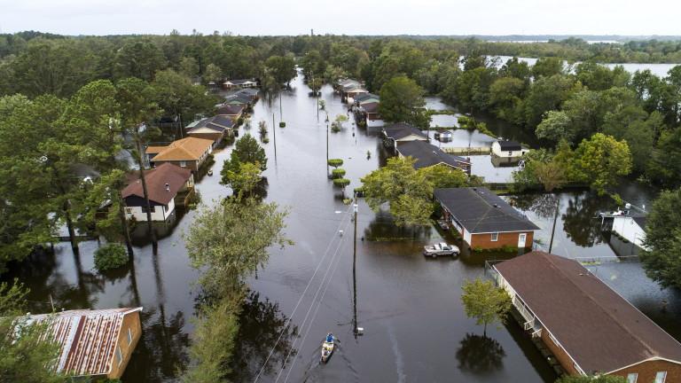 Жертвите на урагана