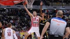 Александър Везенков с 9 точки при победа на Олимпиакос