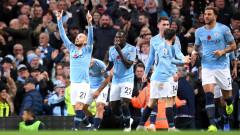 Сити спечели дербито на Манчестър, четири гола, дузпа и екшън до последните минути развълнуваха феновете