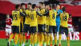НА ЖИВО: Мидълзбро - Арсенал, Месут Йозил бележи за 2:1!