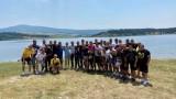 Кметът на Перник посети тиймбилдинга на Миньор