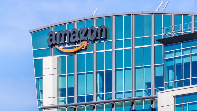 Amazon е удвоила печалбата си през първото тримесечие на 2019-а