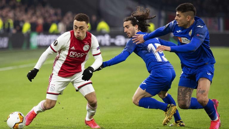 Миналогодишният полуфиналист в Шампионска лига Аякс отпадна от втория по