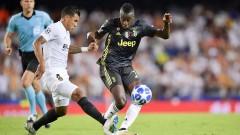 Ювентус - Валенсия 1:0, Манджукич откри за домакините