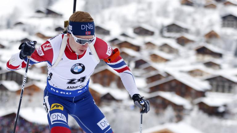 Йоханес Тингес Бьо с категоричен успех с масовия старт в Антхолц-Антерселва