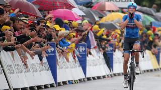 """Рамунас Навардаускас има етапни победи в """"Тур дьо Франс"""" и Джиро д'Италия"""""""