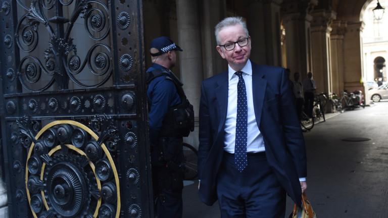 Британският министър на околната среда Майкъл Гоув е отхвърлил предложение