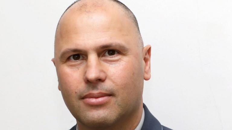 Генерал-майор Явор Матеев с поздравителен адрес към ЦСКА