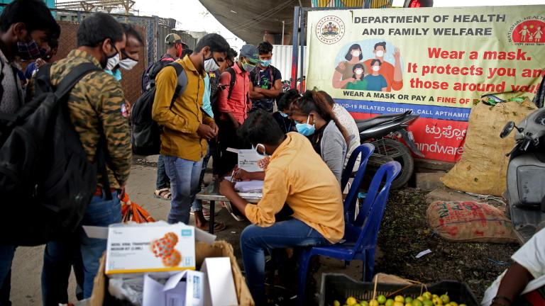 Жертвите от COVID-19 в Индия 10 пъти повече от отчетените
