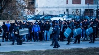 """И феновете на Левски са пред """"Арена Армеец"""""""