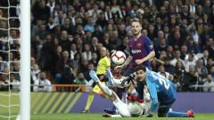 Реал (Мадрид) - Барселона 0:1, Иван Ракитич открива за каталунците!